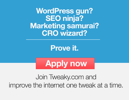Tweaky.The marketplace for website customization.