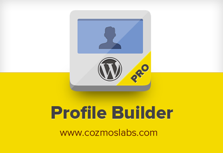 Profile Builder Pro - profile plugin for WordPress