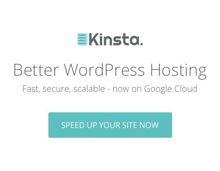 Better WordPress Hosting - Kinsta